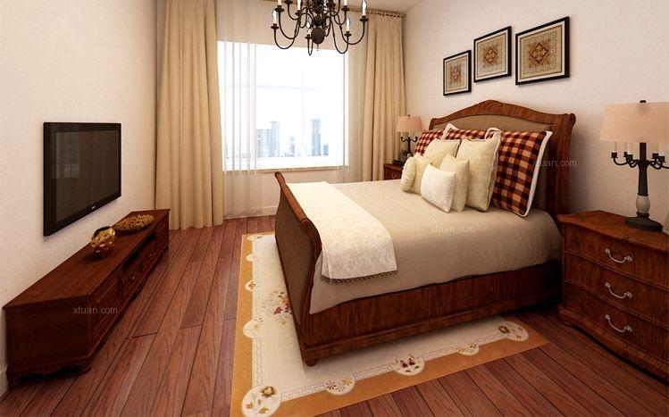 两室一厅卧室