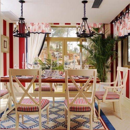 别墅田园风格餐厅