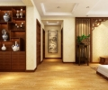 保利贝森公馆138平装修案例-中式风格