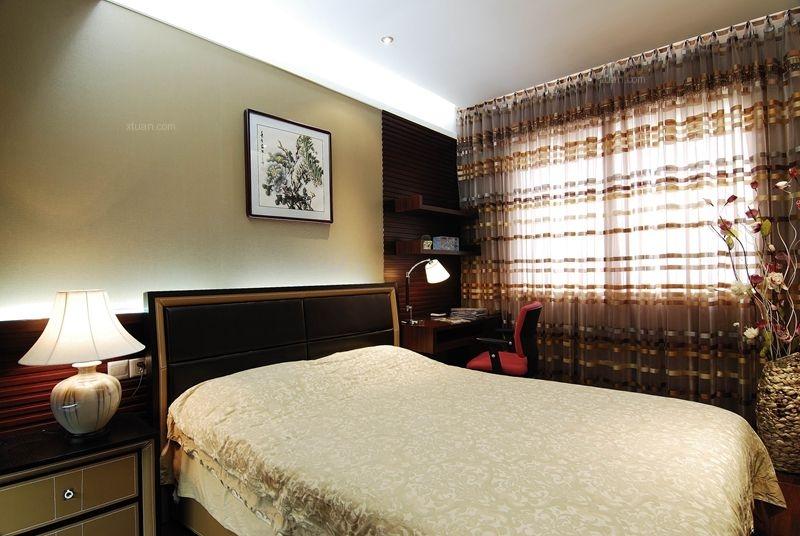 四居室中式风格卧室