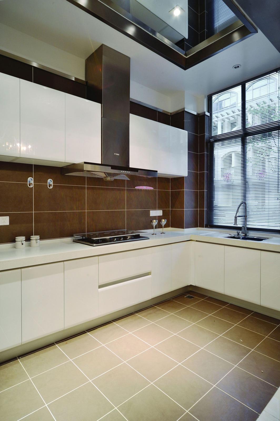 别墅欧式风格厨房软装