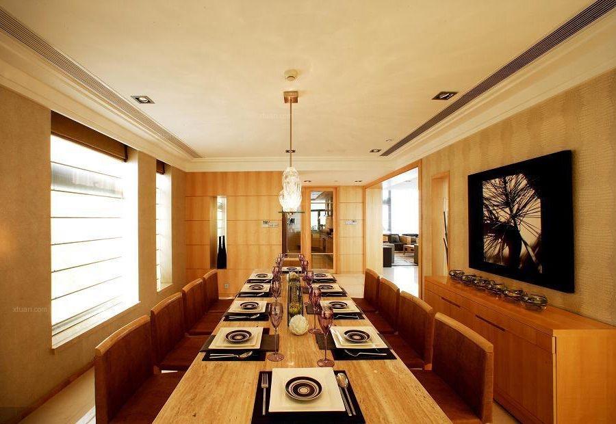 【汤臣豪园】280平别墅年轻白领随意又时尚的现代居室生活