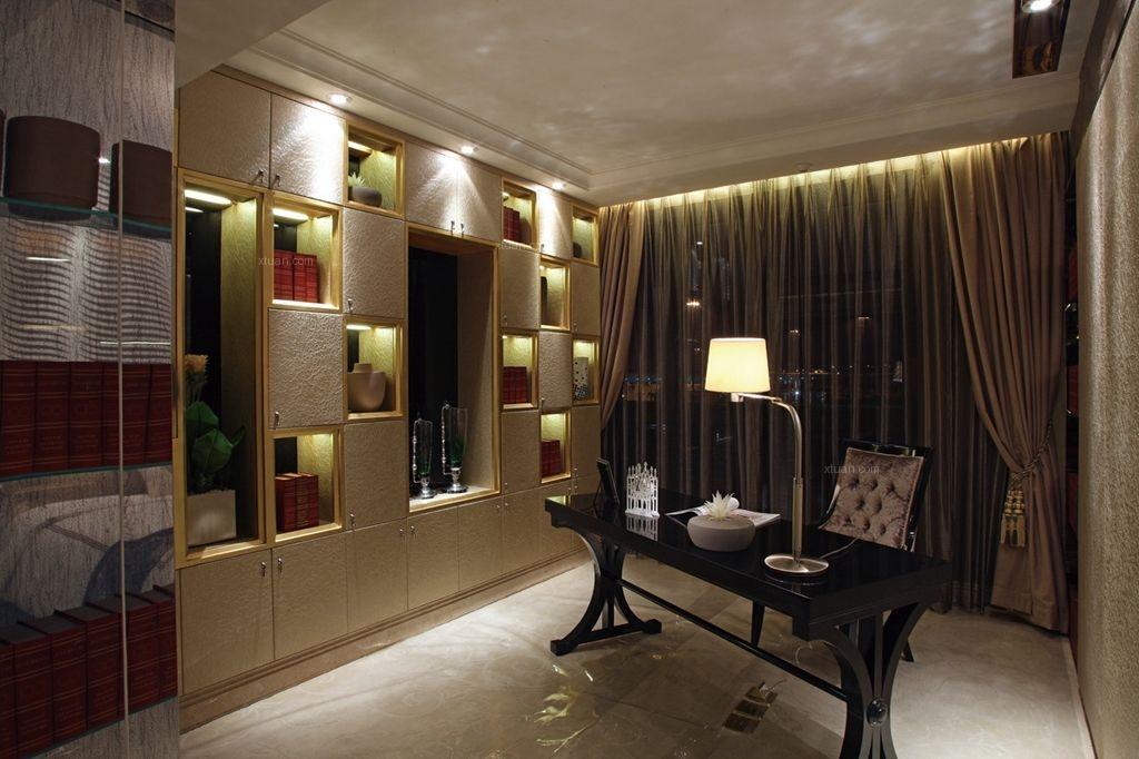 四居室欧式风格书房