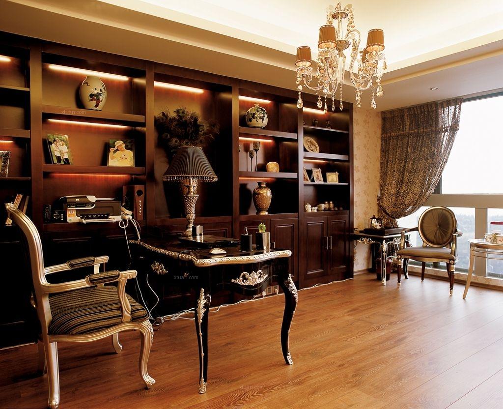 四居室欧式风格书房图片