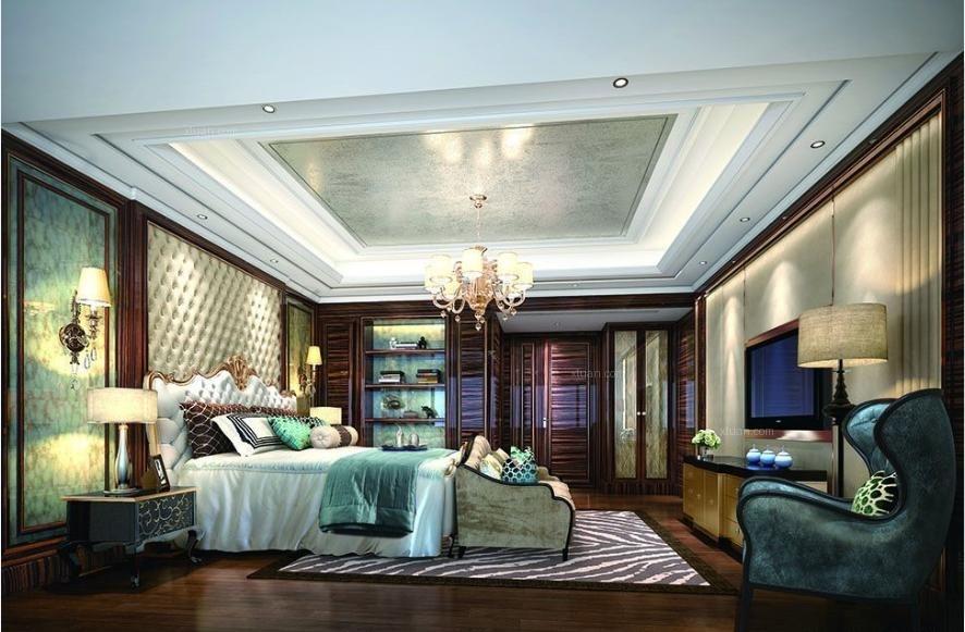 别墅洛可可风格主卧室