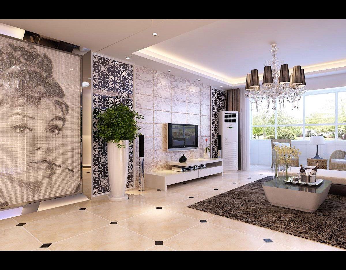 西安家装两室小户型展示 80平米装修效果图