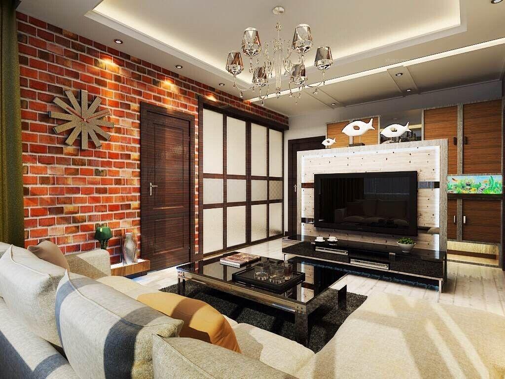 咖啡色个性空间 老房改造