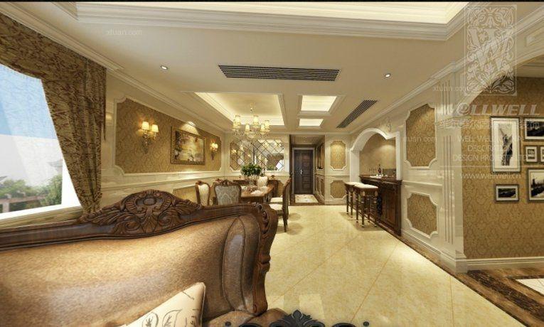 大户型欧式风格客厅