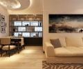保利清华颐园42平米现代简约风格   哈尔滨麻雀装饰公司