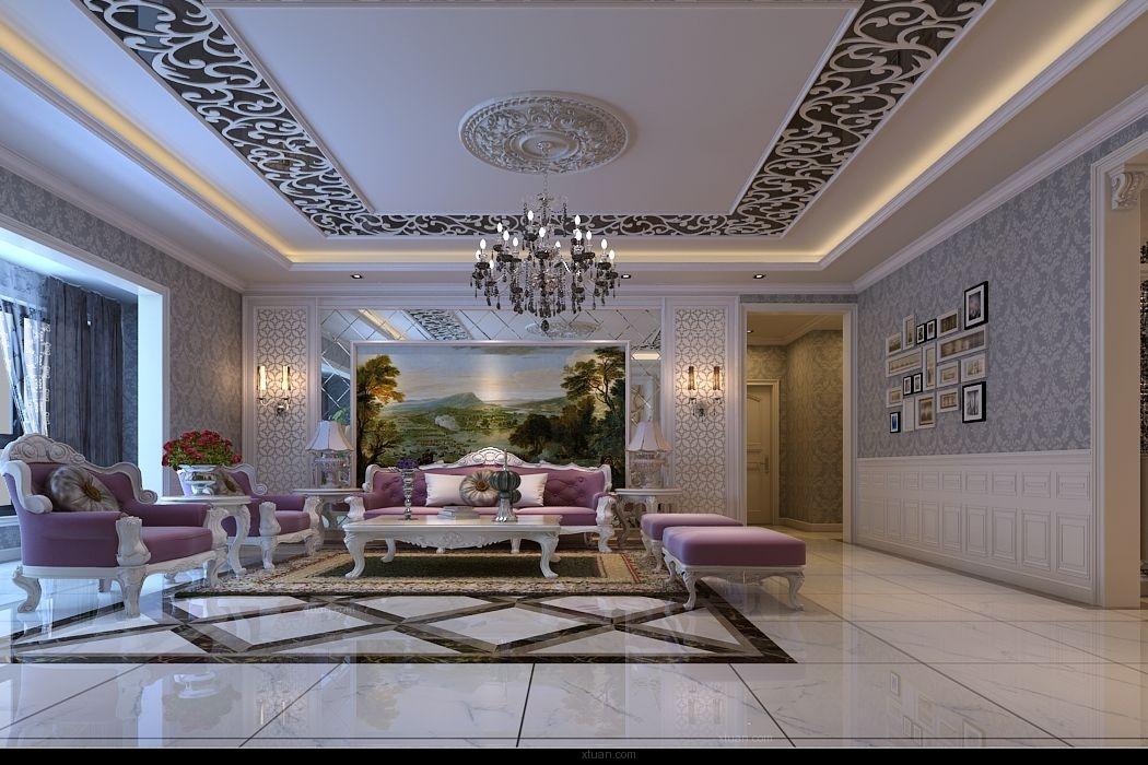 西安装修案例效果图:四室两厅-欧式风格图片