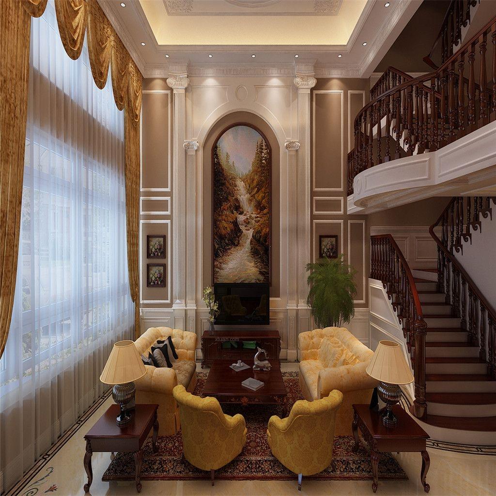 别墅法式风格书房图片