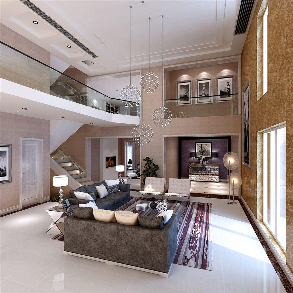 别墅简约风格客厅