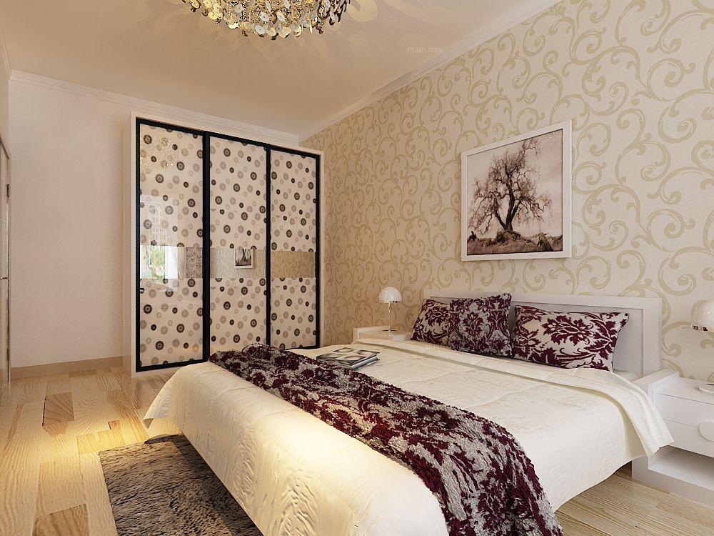 三室一厅主卧室