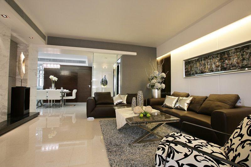 两室两厅欧式风格客厅