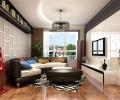 无国界109平米现代简约三居室