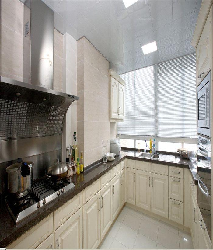 三居室欧式风格厨房厨具