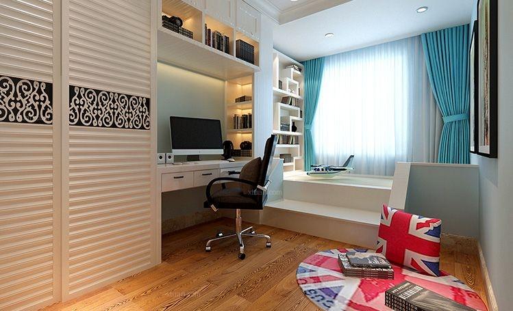 两居室现代简约书房