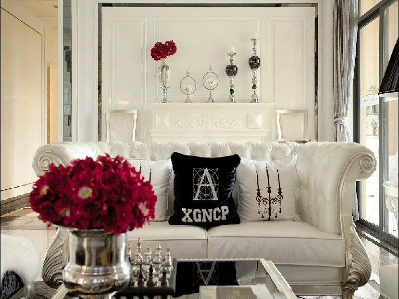 两室两厅古典风格客厅