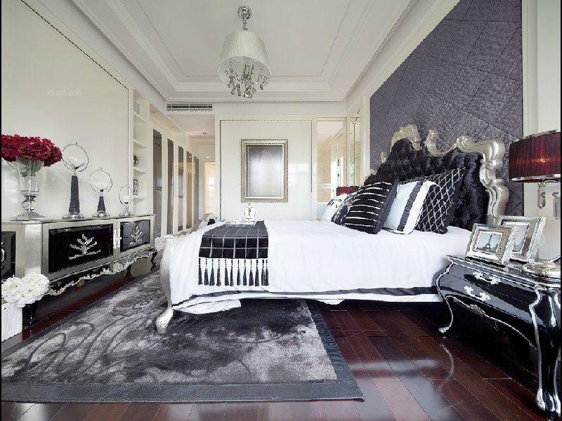 两室两厅古典风格卧室