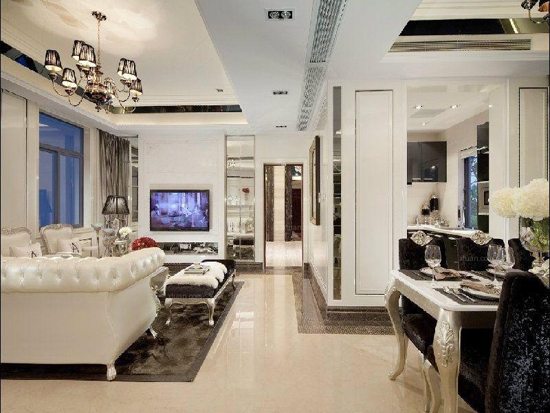 两室两厅古典风格过道
