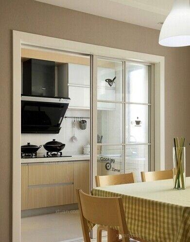 两居室现代风格厨房