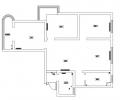日报社家属院118平三居新中式风格设计方案