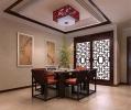 别墅中式装修设计清新静雅