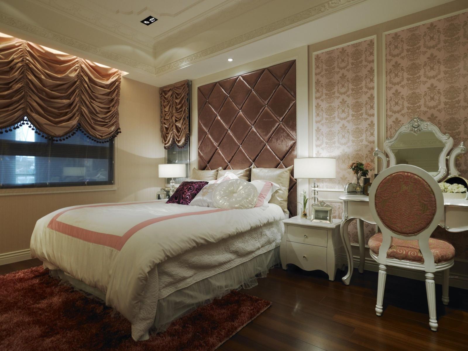三室两厅新古典卧室
