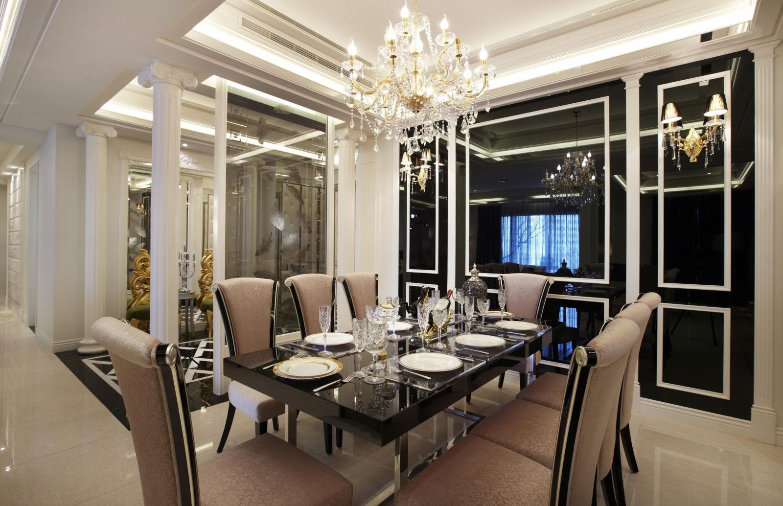 两室两厅北欧风格餐厅