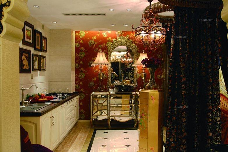 三室两厅东南亚风格卫生间