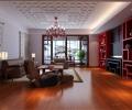 成都别墅装修首席设计师推荐城南一号新中式风格案例欣赏