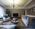 金地·翔悦天下-四居室-现代美式风格