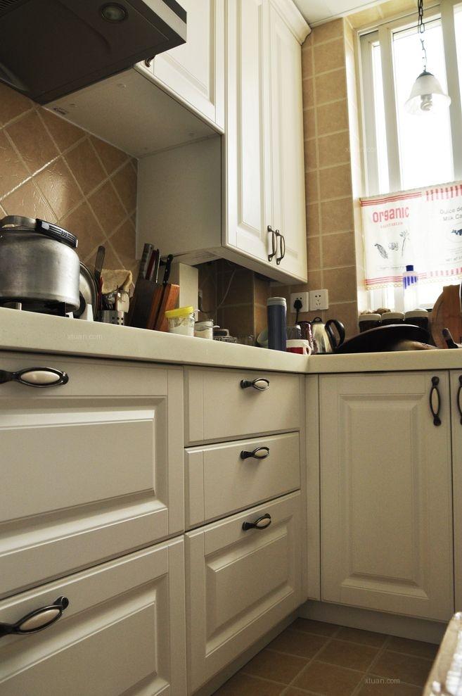 三居室混搭风格厨房开放式厨房