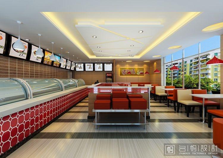 浙江平湖殷总自选式快餐店设计