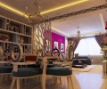 海伦国际-三居室-简欧风格