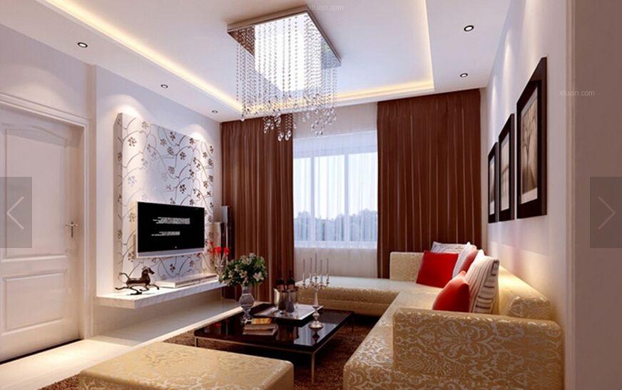 济南实创装饰5万打造中建锦绣城两居室简约风