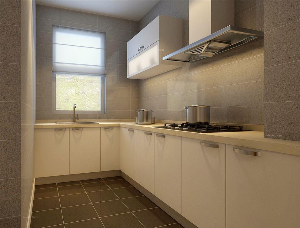 两居室现代简约厨房厨具