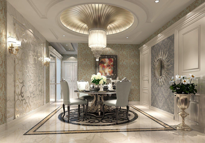 三室两厅欧式风格餐厅