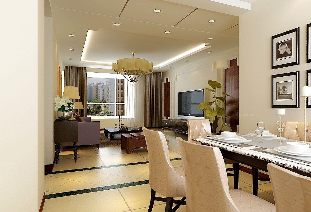 三居室中式风格餐厅软装
