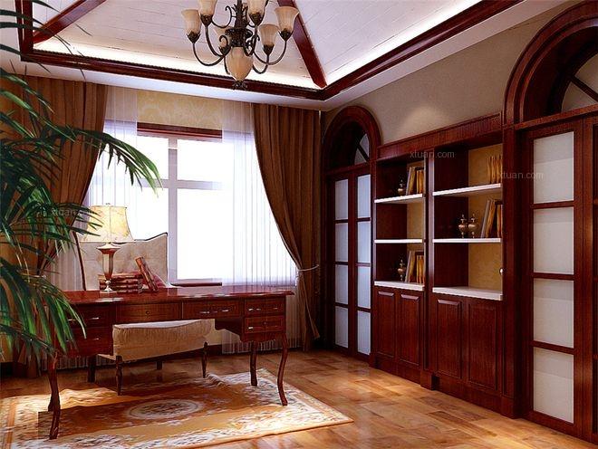 四居室书房