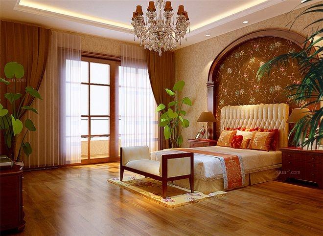 四居室卧室