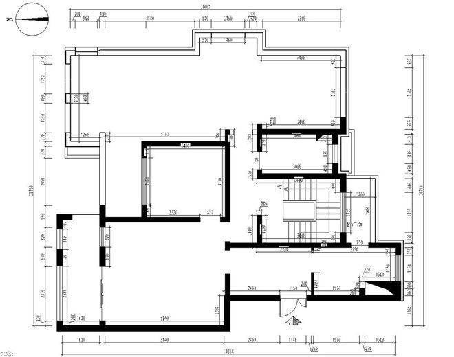 四居室交换空间