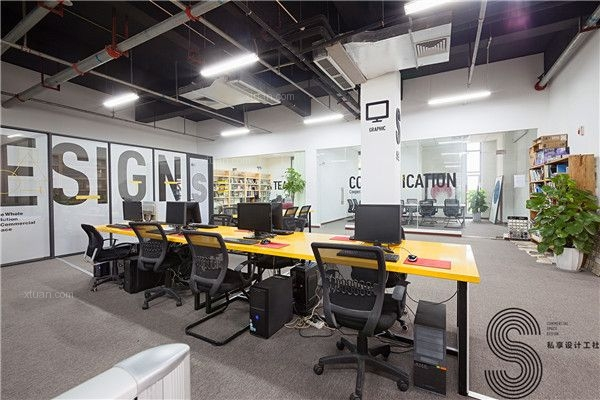 成都最好的店铺设计公司案例:SXD私享设计工社总部办公室