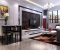 正商恒钻89平时尚的两居室装修设计施工
