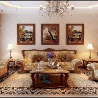 四季上东-欧式古典-哈尔滨麻雀装饰公司
