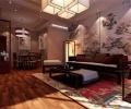 碧鸡名城120平米中式风格餐厅装修效果图