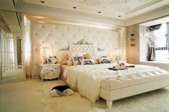 三居室欧式风格卧室墙绘
