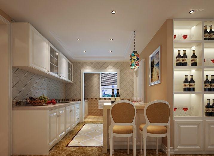 别墅欧式风格厨房