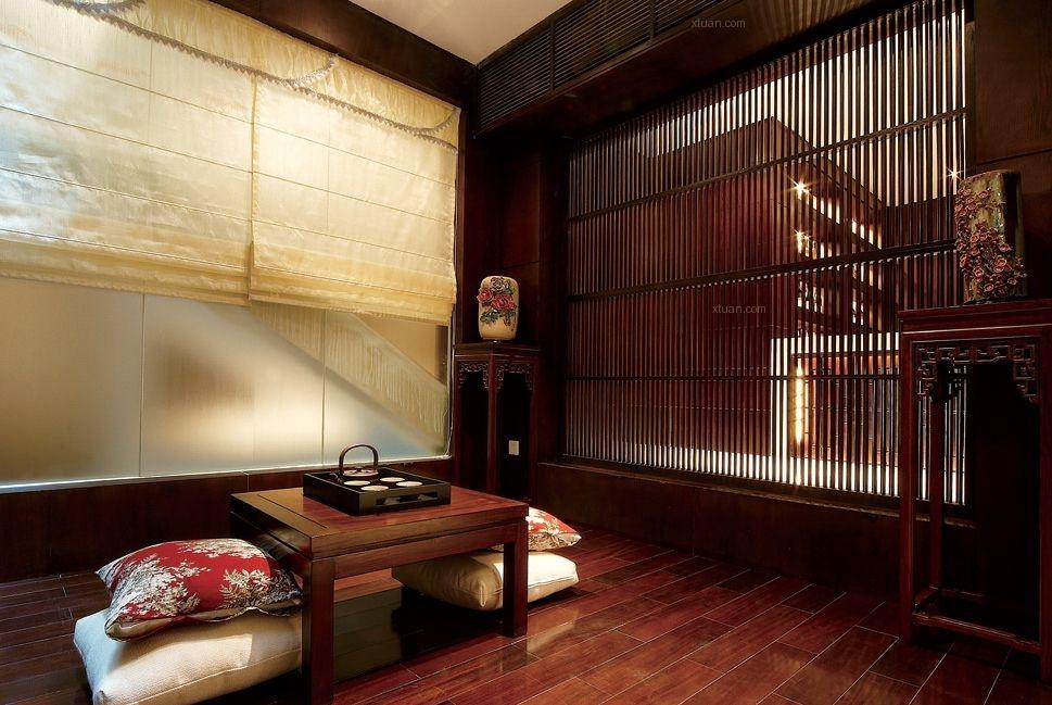 别墅中式风格休闲区图片