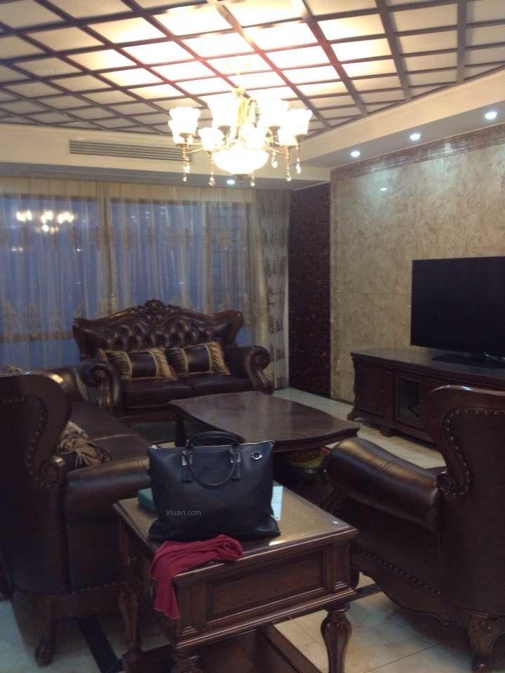 四居室简欧风格客厅